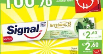 Signal tandpasta 100% terugbetaald bij Intermarché