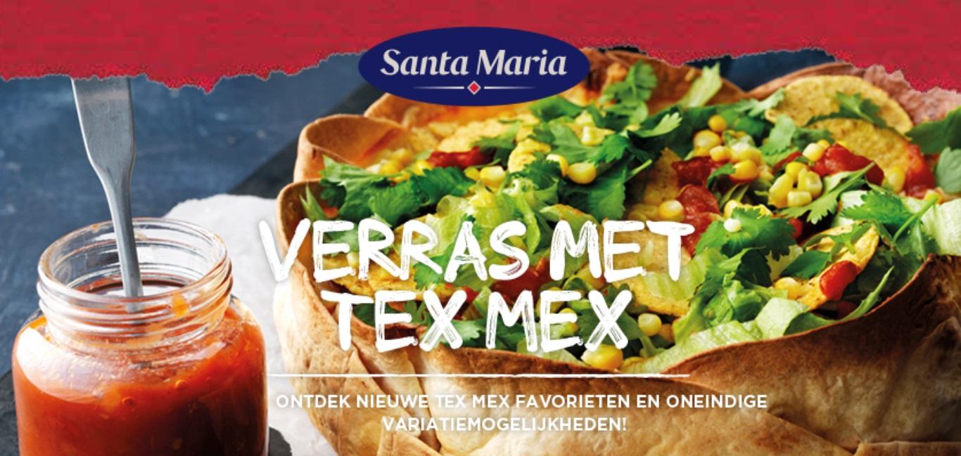 Test gratis de Tex Mex Santa Maria specialiteiten dankzij The Insiders