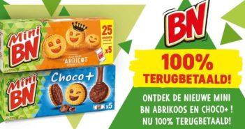 Mini BM koekjes 100% terugbetaald met myShopi