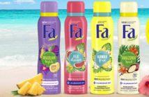 Fa deodorant 100% terugbetaald bij Kruidvat