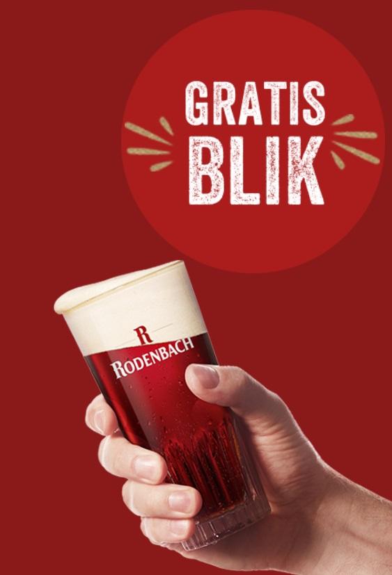 Gratis Rodenbach bier