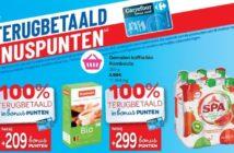 100% terugbetaalde producten bij Carrefour op 7 maart 2019