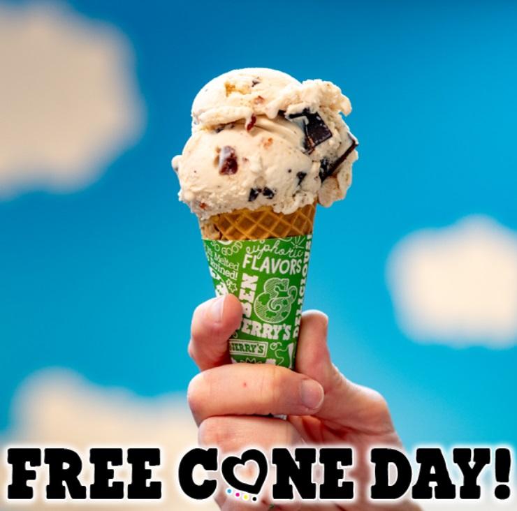 Free Cone Day: gratis Ben & Jerry's ijs