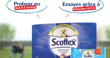 Kortingsbon Scottex toiletpapier