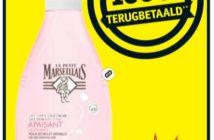 Le Petit Marseillais bodylotion 100% terugbetaald bij Kruidvat