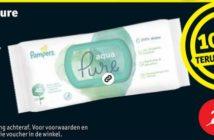 Pampers babydoekjes 100% terugbetaald bij Kruidvat