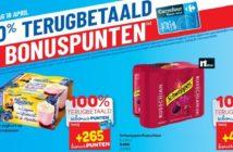 100% terugbetaalde producten bij Carrefour Hyper op 18 april 2019