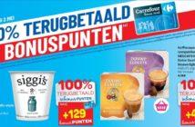 100% terugbetaalde producten bij Carrefour op 2 mei 2019