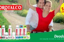 Borotalco deodorant 100% terugbetaald op myShopi