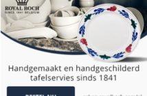 Promocode op Royal Boch vaatwerk