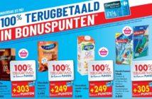 Terugbetaalde producten bij Carrefour Hyper op 23 mei 2019