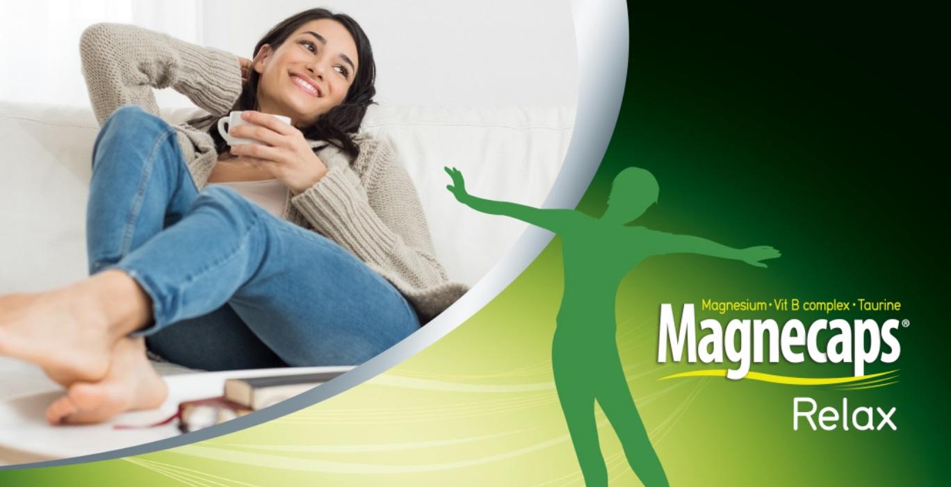 Test gratis de Magnecaps Relax voedingssupplement