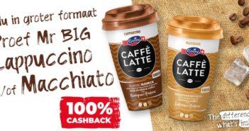 Emmi café latte 100% terugbetaald op myShopi