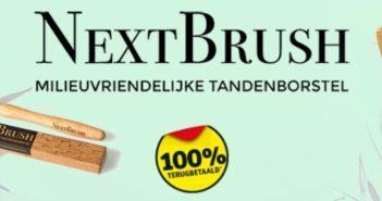 NextBrush tandenborstel 100% terugbetaald bij Kruidvat