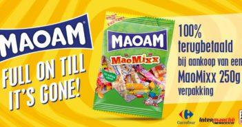 Maoam MaoMixx snoepjes 100% terugbetaald op myShopi