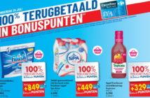 100% terugbetaalde producten bij Carrefour op 25 juli 2019