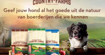 Gratis Country Farms voeding voor honden