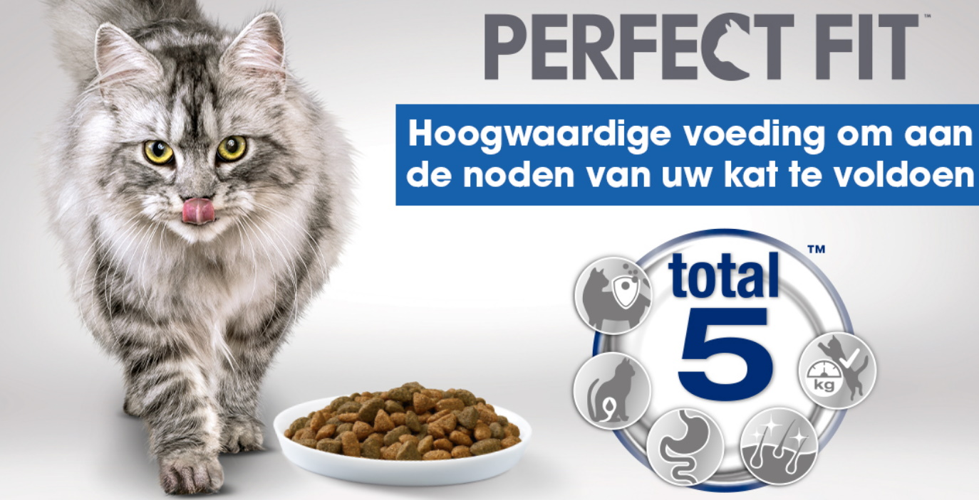 Test gratis Perfect Fit kattenvoeding dankzij the Insiders