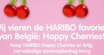 Haribo Happy Cherries snoep 100% terugbetaald