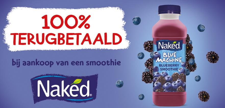 Naked smoothie 100% terugbetaald met myShopi