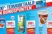 100% terugbetaalde producten bij Carrefour op 22 augustus 2019