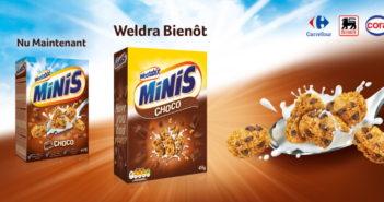Ontbijtgranen Weetabix Minis Choco 100% terugbetaald op myShopi