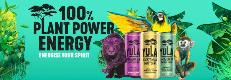 Gratis Yula energy drank