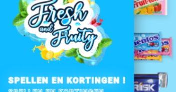 Korting op Mentos, Frisk en Fruittella