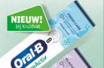 Oral-B PureActiv tandpasta 100% terugbetaald bij Kruidvat
