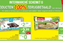 100% terugbetaalde producten bij Intermarché in oktober 2019