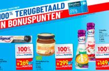 100% terugbetaalde-producten bij Carrefour op 7 november 2019