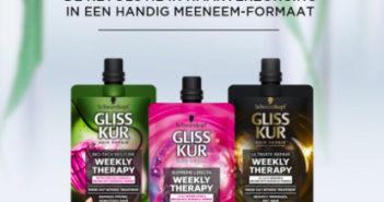 Gliss Kur haarverzorging 100% terugbetaald met Shopmium