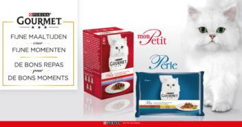 Purina Gourmet kattenvoeding 100% terugbetaald met myShopi