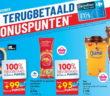 100% terugbetaalde producten bij Carrefour op 21 november 2019