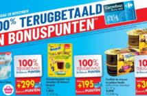 100% terugbetaalde producten bij Carrefour op 28/11/2019