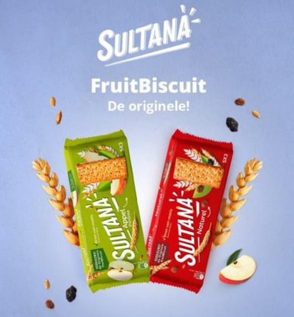 Sultana FruitBiscuit koekjes 100% terugbetaald op Shopmium