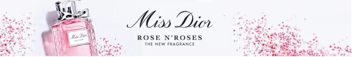 Gratis staal parfum Miss Dior Rose N'Roses