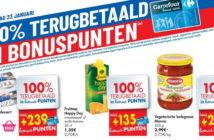 100% terugbetaalde producten bij Carrefour op 23 januari 2020