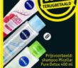 Nivea micellaire shampoo of conditioner 100% terugbetaald bij Kruidvat