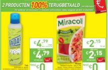 100% terugbetaalde producten bij Intermarché in februari 2020