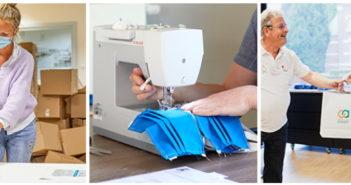 Gratis naaipakketten om mondmaskers te maken