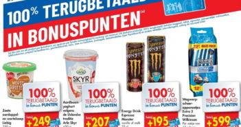 100% terugbetaalde producten bij Carrefour op 28 mei 2020