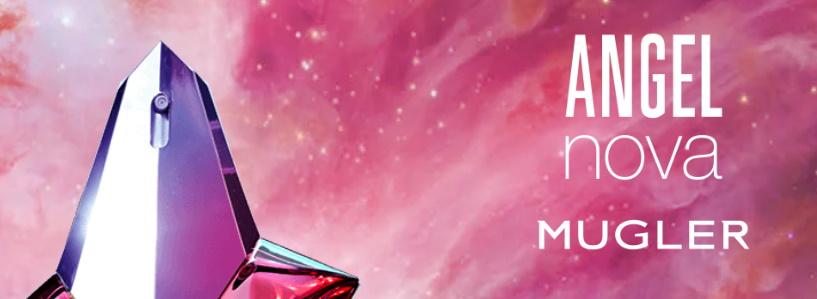 Gratis staal parfum Angel Nova Mugler