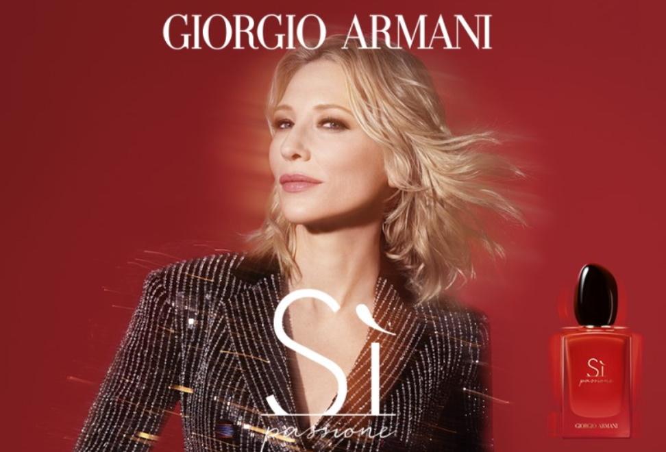Gratis staal parfum Si Giorgio Armani
