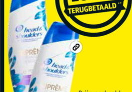 Head & Shoulders Suprême shampoo 100% terugbetaald