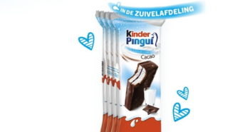 Kinder Pingui 100% terugbetaald met Shopmium