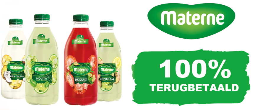 Materne Mocktail 100% terugbetaald