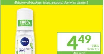 Nivea Naturally Good deodorant 100% terugbetaald