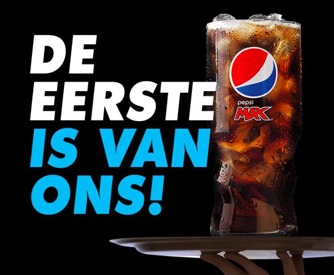 Pepsi Max 100% terugbetaald
