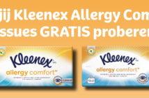 Gratis Kleenex zakdoeken
